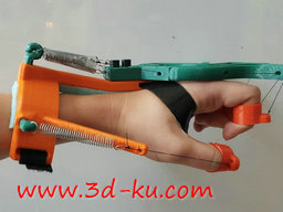 3D打印模型外骨骼手的图片