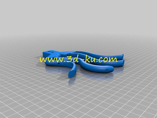 外骨骼手-3D打印模型的预览图8