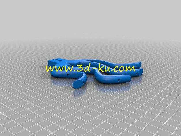 外骨骼手-3D打印模型的预览图9