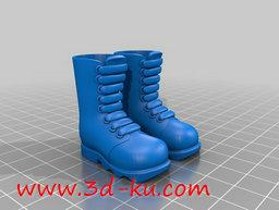 3D打印模型工矿靴的图片