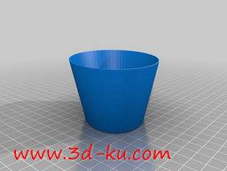 3D打印模型测量用杯的图片