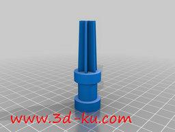 3D打印模型伸缩管端盖的图片