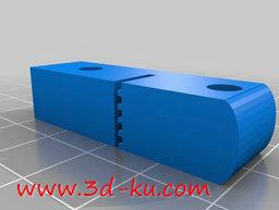 3D打印模型X 轴拉紧器的图片
