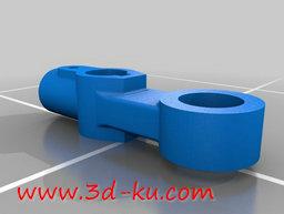 3D打印模型惰轮臂的图片