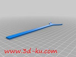 3D打印模型轨道夹的图片