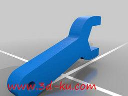 3D打印模型扳手钥匙扣的图片