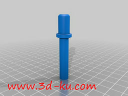 3D打印模型弹簧的主轴锁的图片