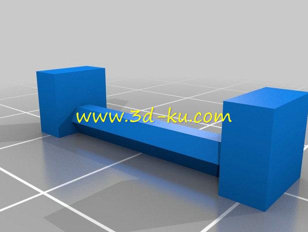 宝马摩托车系统案胶杠-3D打印模型的预览图2