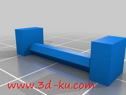3D打印模型宝马摩托车系统案胶杠的图片