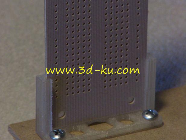 电子线路的原型板-3D打印模型的预览图1