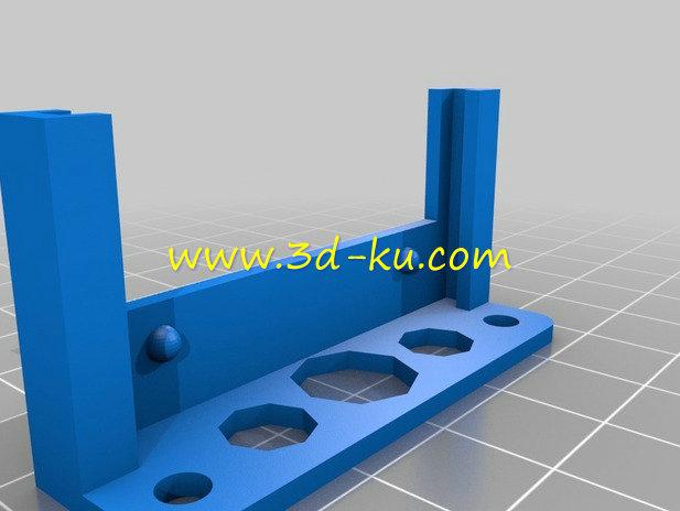 电子线路的原型板-3D打印模型的预览图2