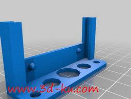3D打印模型电子线路的原型板的图片