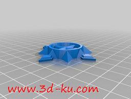 3D打印模型旋转激光叶片的图片