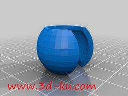 3D打印模型电缆缠绕架的图片