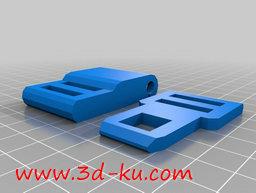 3D打印模型安全带紧固扣的图片
