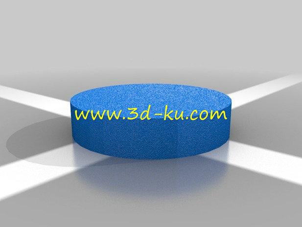 发动机凸轮轴-3D打印模型的预览图3