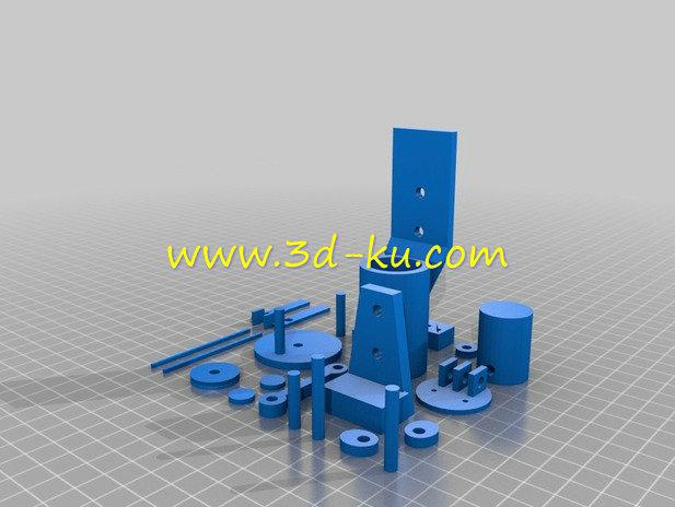 发动机凸轮轴-3D打印模型的预览图4