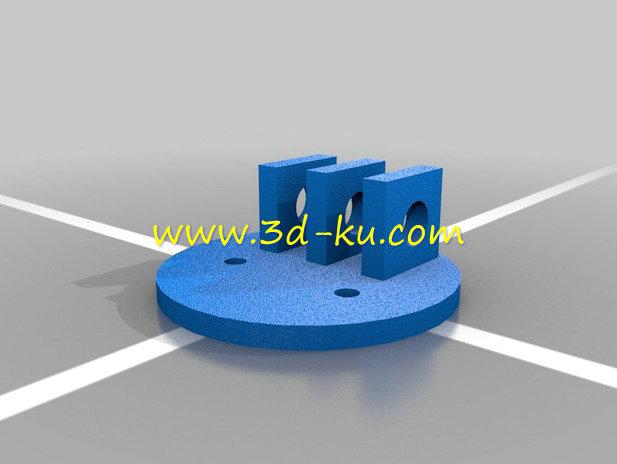 发动机凸轮轴-3D打印模型的预览图7