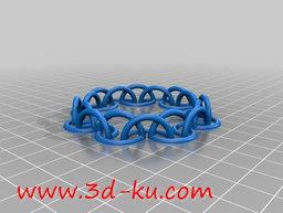 3D打印模型半圈链的图片