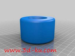3D打印模型长板轮的图片