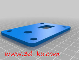 3D打印模型电源板的图片