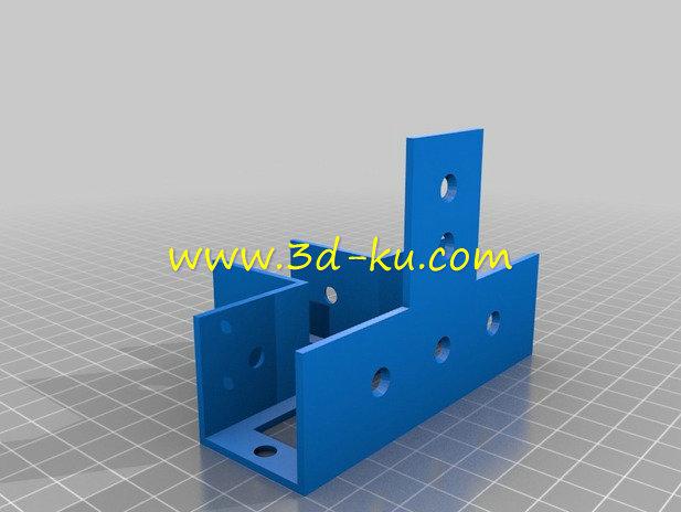 木框支架-3D打印模型的预览图2