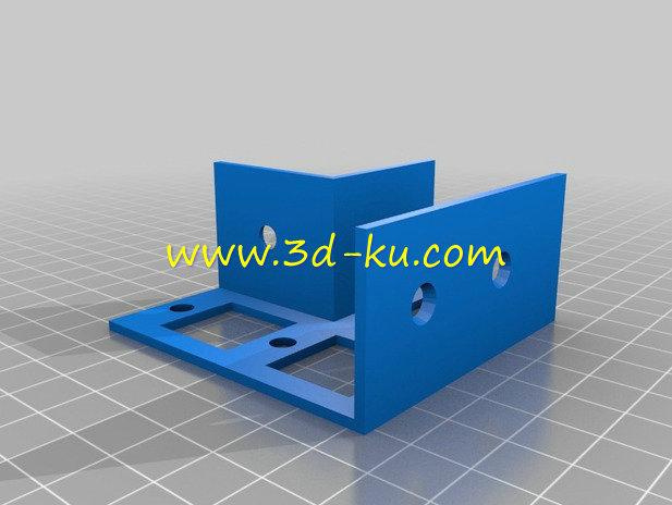 木框支架-3D打印模型的预览图3