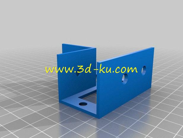木框支架-3D打印模型的预览图4