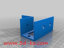 3D打印模型木框支架的图片