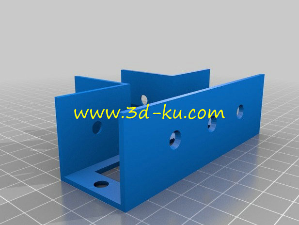 木框支架-3D打印模型的预览图5