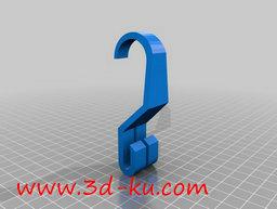 3D打印模型货架的挂钩的图片