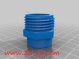 3D打印模型软管连接到浴室水槽适的图片