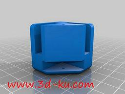 3D打印模型模块化的蜂窝状框架的图片