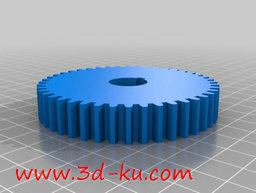 3D打印模型车床变速齿轮组的图片