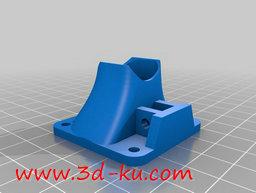 3D打印模型风扇的导风槽的图片