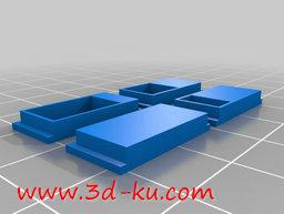 3D打印模型排气计量板的图片