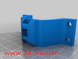 3D打印模型y 轴皮带夹的图片