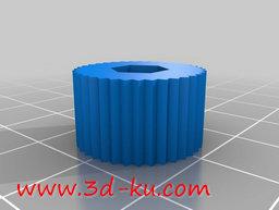 3D打印模型螺旋钻头柄的图片