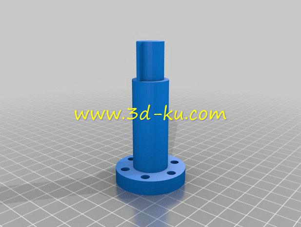 玩具汽轮机-3D打印模型的预览图4