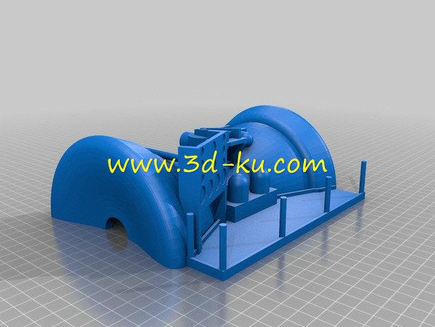 玩具汽轮机-3D打印模型的预览图8