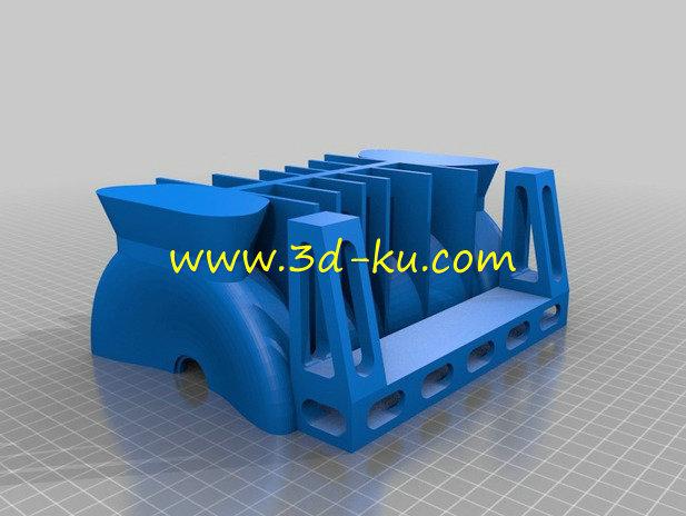 玩具汽轮机-3D打印模型的预览图9