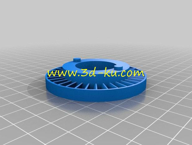 玩具汽轮机-3D打印模型的预览图10