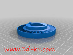 3D打印模型玩具汽轮机的图片