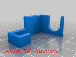 3D打印模型电力电缆夹的图片