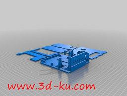 3D打印模型电路板盒的图片