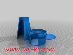 3D打印模型高炉炉壳的图片