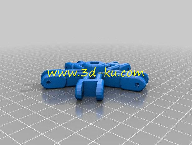 外形酷似蜘蛛的蜘蛛阀-3D打印模型的预览图2