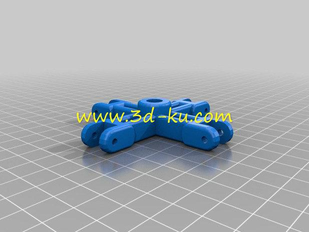 外形酷似蜘蛛的蜘蛛阀-3D打印模型的预览图3