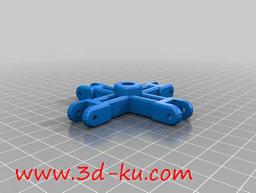3D打印模型外形酷似蜘蛛的蜘蛛阀的图片