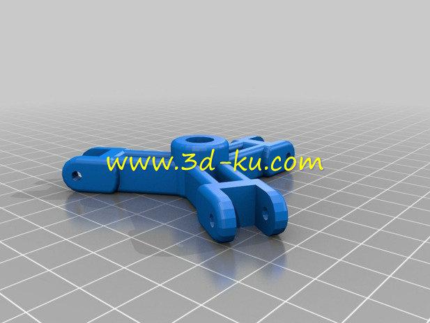 外形酷似蜘蛛的蜘蛛阀-3D打印模型的预览图4